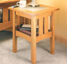Craftsman Coffee Table Living Room Furniture Woodsmith Plans