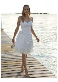informal wedding dresses uk strapless lace knee length asym informal wedding dress on sale hot
