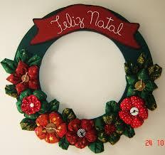 mundo do artesanato guirlandas de natal navidad pinterest