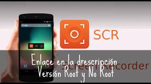 scr screen recorder apk scr screen recorder pro root no root para lollipop