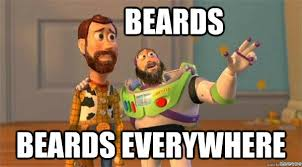 Everywhere Meme - beards beards everywhere misc quickmeme