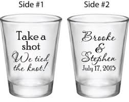 wedding favor glasses personalized wedding favors custom glasses by factory21
