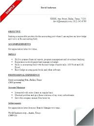 Accountant Resume Template by Accountant Achievements In Resumes Accounting Resume Templates
