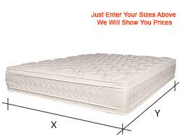 Measurement Of A King Size Bed Order A Custom Size Mattress Handmade To Your Measurements