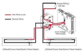 baseboard thermostat wiring baseboard heater installation baseboard