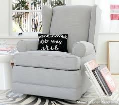 best chairs finley swivel glider recliner gray tweed hampton