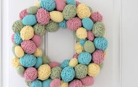 Cute Easter Door Decorations by How To Diy Decorative Easter Egg Wreath U2013 Diy Is Fun