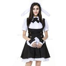 Halloween Victorian Costumes Oktoberfest Maid Cosplay Costume Maid Dress Disfraz Halloween