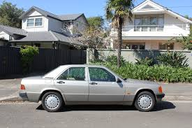 aussie old parked cars 1992 mercedes benz w201 190e 2 3