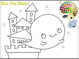 ghost coloring pages kids ghost coloring pages
