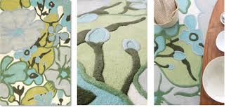 Grey And Blue Area Rugs Amy Butler