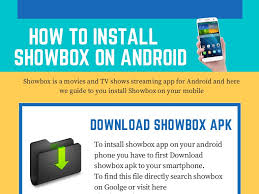 install showbox apk install showbox on android smartphone