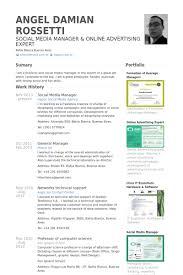 Social Media Community Manager Resume Download Social Media Manager Resume Haadyaooverbayresort Com