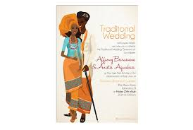 traditional wedding invitations ibibio traditional wedding card traditional wedding