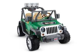power wheels deluxe jeep wrangler 12 volt ride on toys