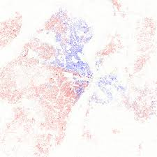 stl metro map racial distribution of the st louis metro area stlouis