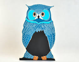 Owls Home Decor Owl Office Decor Etsy
