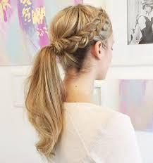 Frisuren Lange Haare Pferdeschwanz by Die Besten 25 Pferdeschwanz Stile Ideen Auf