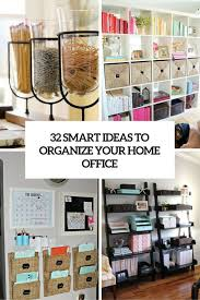 Organize Home | how to organize your home office 32 smart ideas digsdigs