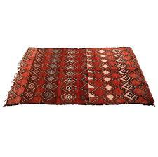 Vintage Tribal Rugs Vintage Moroccan Red Tribal Rug For Sale At 1stdibs