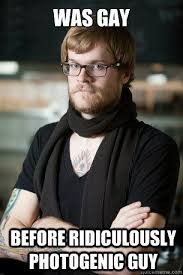 Photogenic Meme - even hipster barista can t resist ridiculously photogenic guy