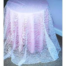 White Table Cloths Tablecloths Round Julia 70 Inch White Oxford House Elegance Of
