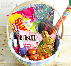easter basket easter basket for with printable easter tags cutesy crafts