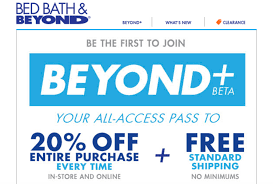 Bed Bath Beyond In Store Coupon Bed Bath And Beyond Wants To Wean Us Off Coupons With Membership