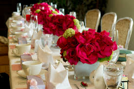 Bridal Shower Table Decorations by Photo Baby Shower Centerpiece Giveaway Image