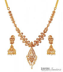 pearls gold necklace sets images 22k gold pearls necklace set ajns59821 22k gold necklace and jpg
