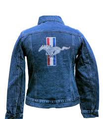 mustang shirts and jackets rhinestone denim jacket sold exclusively here on sale