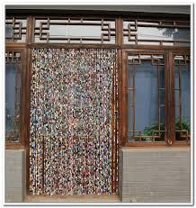 Bamboo Closet Door Curtains Area Rugs Extraordinary Bead Door Curtain Wooden Beaded Curtains