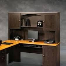 Menards Computer Desk Bestar Innova Corner Computer Desk Tuscany Brown Black 92420