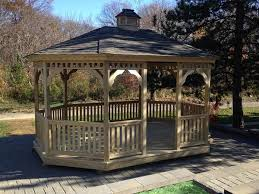 Backyard Gazebos For Sale by Garden Gazebo Wood Oval Gazebo Gazebos For Sale In Kinzers Lnas