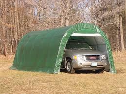 12 u0027 x 20 u0027 x 8 u0027 round style one car garage dome round style