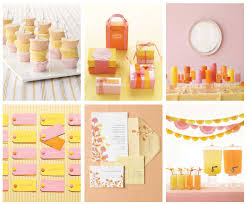 yellow color color scheme pink yellow orange