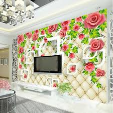 Kid Room Wallpaper by Aliexpress Com Buy Romantic Rose Photo Wallpaper 3d Wallpaper
