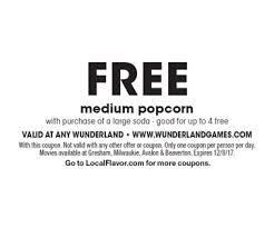 localflavor com wunderland cinema and nickel games coupons