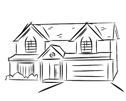 drawing houses photos simple house drawing drawings art gallery