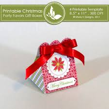 christmas party favors gift boxes shery k designs