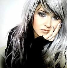 african american silver hair styles silver gray over black i d love to do this some day a good way