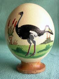 painted ostrich egg south porcelain painted ostrich egg was sold for r80 00