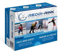 Backyard Hockey Rink Kit by Reddi Rink Online