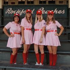 Rockford Peach Halloween Costume Team Continued