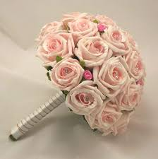 Bouquet For Wedding Image Detail For Bridal Bouquets Mixed Light Pink Rose Diamante