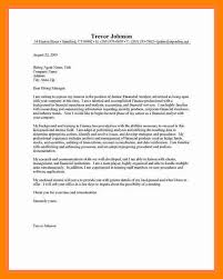 11 cover letter financial analyst doctors signature