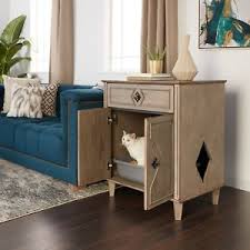 litter box side table weathered grey hidden cat litter box side table traditional kitty