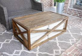 Recycled Wood by Coffee Tables Stylish Best Wood For Diy Coffee Table Riveting