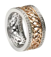 celtic rings meaning celtic wedding rings silver