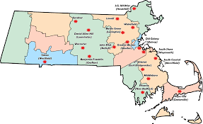 Map Of Cape Cod Ma Massachusetts Demolay Chapters